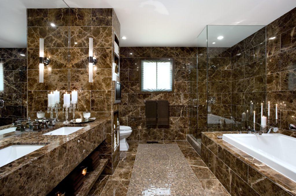 Как выбрать плитку из натурального камня для стен?